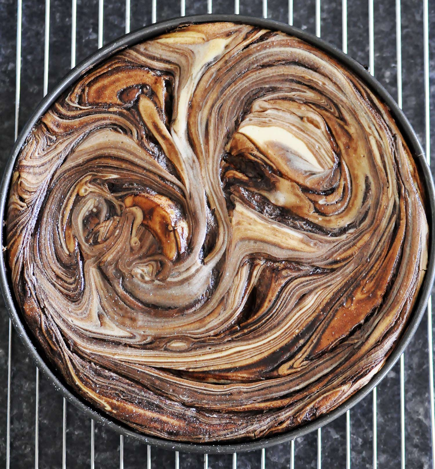 Marble Chocolate Cheesecake Cakes Ofbatterdough
