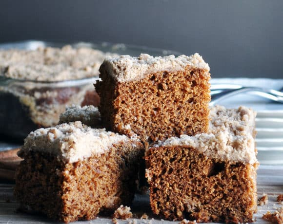 Favorite old fashioned gingerbread | ofbatteranddough.com
