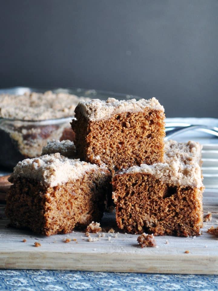 Favorite old fashioned gingerbread | ofbatteranddough.com
