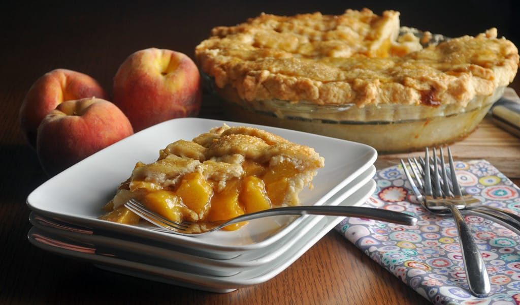 Fresh Peach Pie
