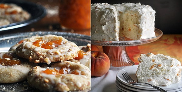 Use Peach Preserves to make Peach Thumbprint Cookies and Peaches and Cream Angel Food Cake