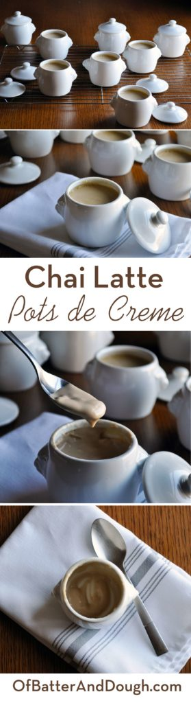 Chai Vanilla Pots de Creme