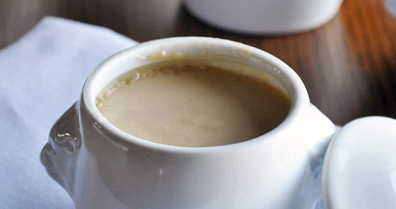 Chai Vanilla Pots de Creme | www.ofbatteranddough.com