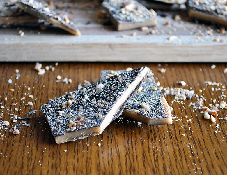 Toffee Recipe | Homemade butter toffee recipe | ofbatteranddough.com