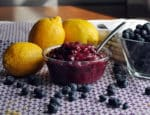Blueberry Sauce | ofbatteranddough.com