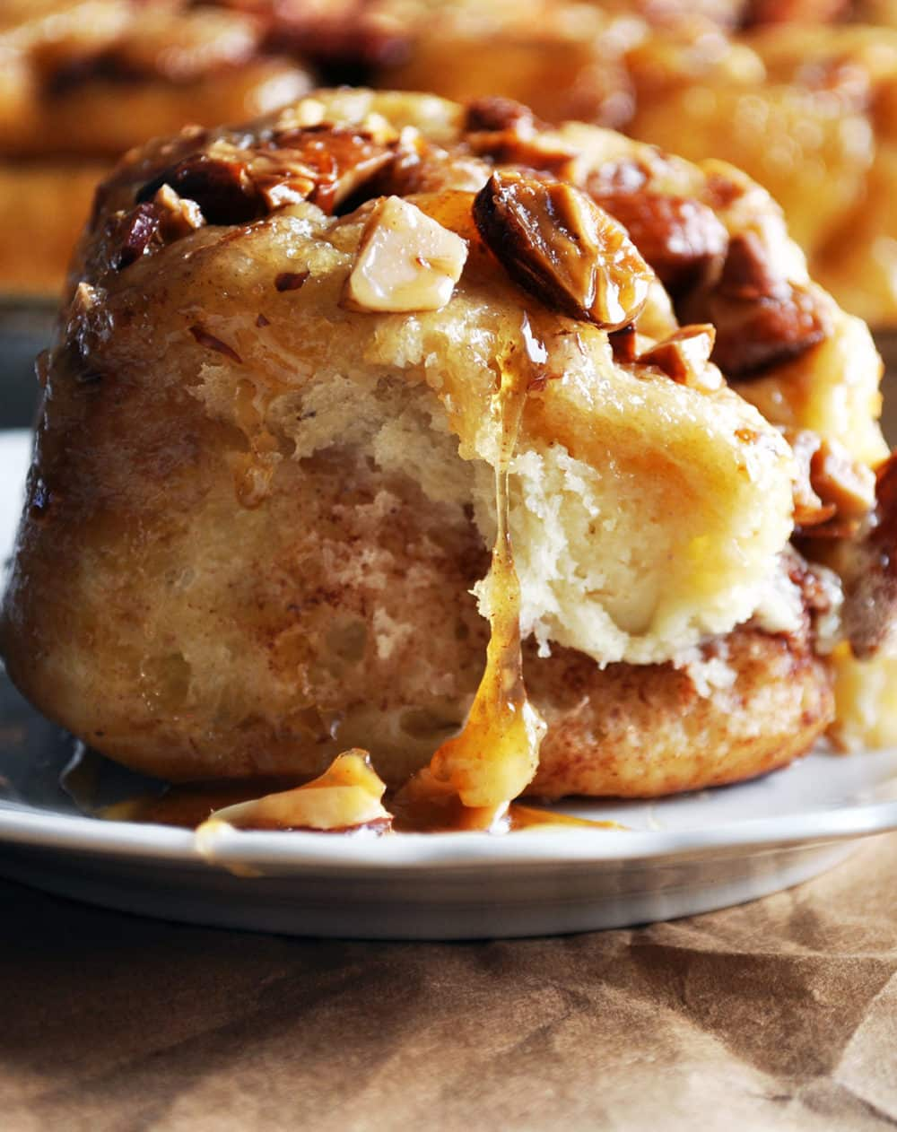 Homemade Overnight Sticky Buns | Caramel Rolls | ofbatteranddough.com