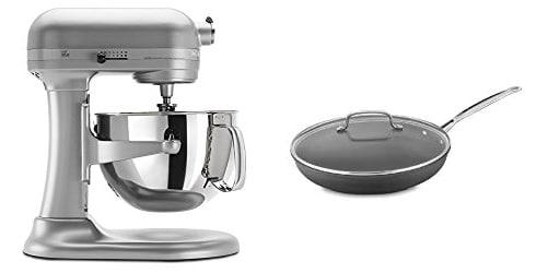 KitchenAid Mixer and Cuisinart Non-Stick Skillet