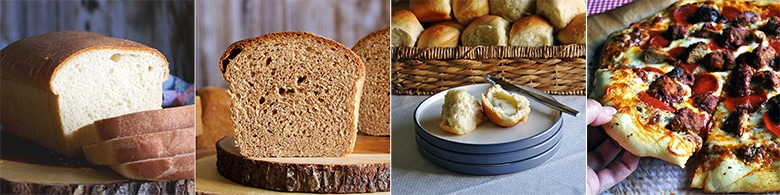 More favorite bread recipes: My Favorite Homemade White Bread, My Favorite Homemade Whole Wheat Bread, My Favorite Homemade Dinner Rolls {AKA - those rolls}, My Favorite Homemade Pizza Dough