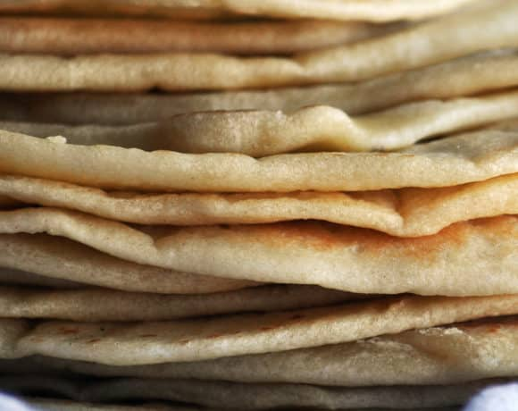 Homemade Tortillas ~ Easy Soft Flour Tortillas