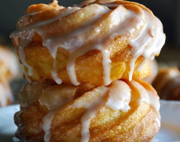 French Cruller Doughnut Recipe