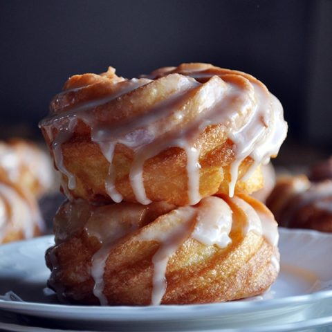 French Cruller Doughnut Recipe