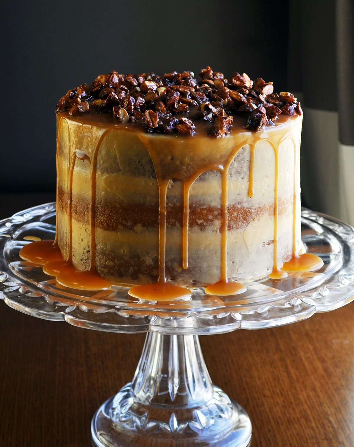Gluten Free Birthday Cake Caramel Cake With Salted