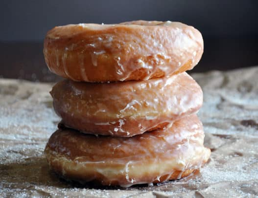 Overnight Homemade Doughnut Recipe | Mother's Day Brunch | ofbatteranddough.com