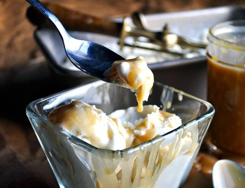 Butterscotch Sauce Recipe | ofbatteranddough.com