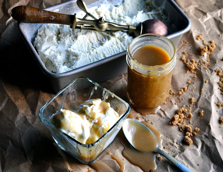 Butterscotch Sauce Recipe | ofbatteranddough.com