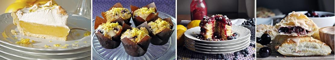 More baking recipes: Lemon Meringue Pie, Blueberry Lemon Muffins, Lemon Ricotta Pancakes, Cherry Turnovers
