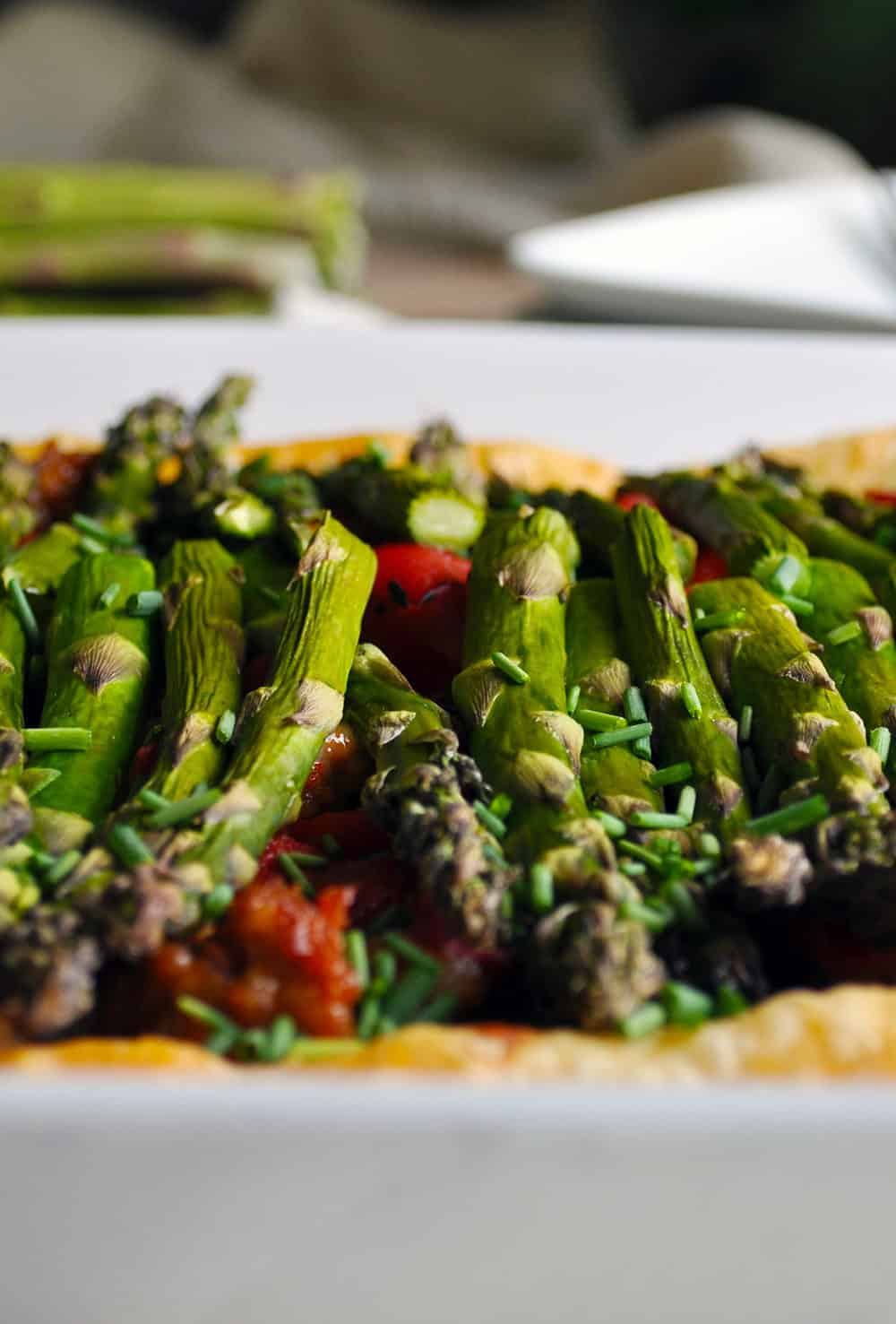 Savory Tart Recipe with Sausage and Vegetables | ofbatteranddough.com