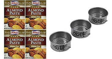 Products used in this almond cake recipe