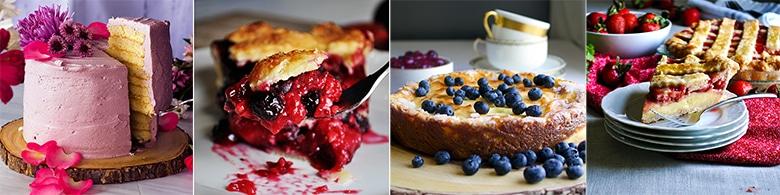 More delicious fruit dessert recipes: