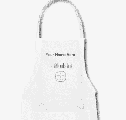 Win this apron from Of Batter and Dough and A Little and A Lot