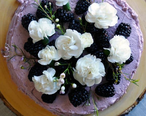 Lemon Blackberry Layer Cake