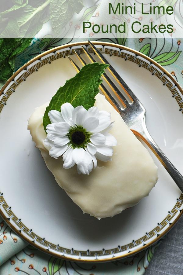 Mini Lime Pound Cakes