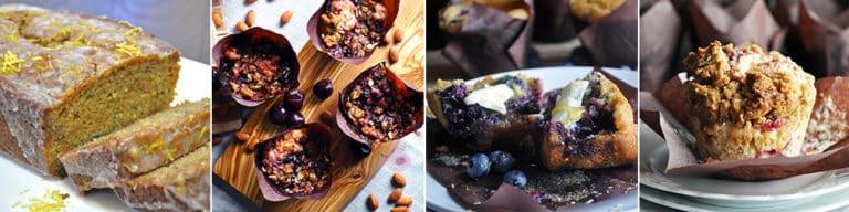 More muffin and zucchini bread recipes