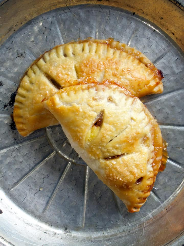 Apple Butter and Cream Hand Pies