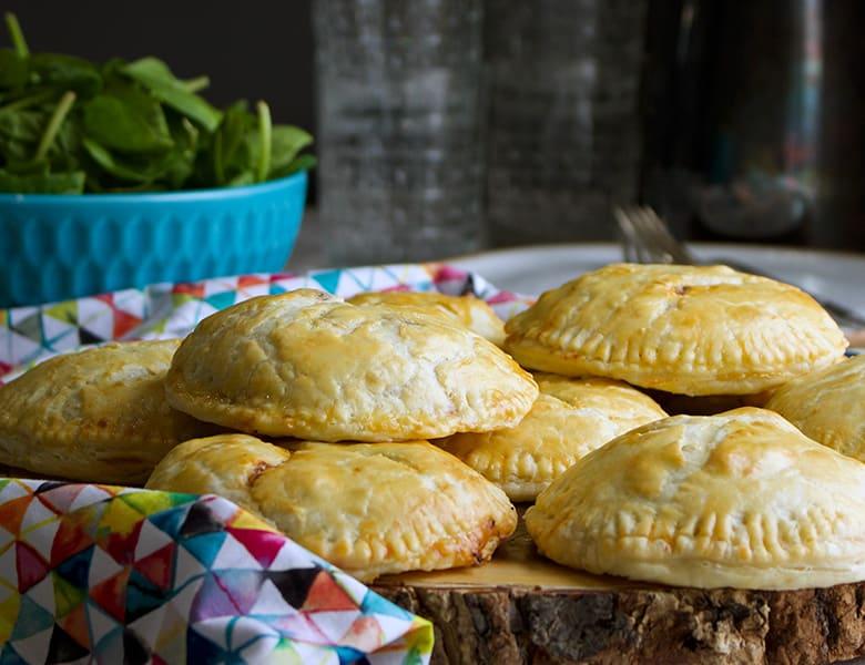 Cheesy Sloppy Joe Hand Pies