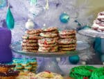 Funfetti Christmas Cookies | Cream cheese sugar cookies