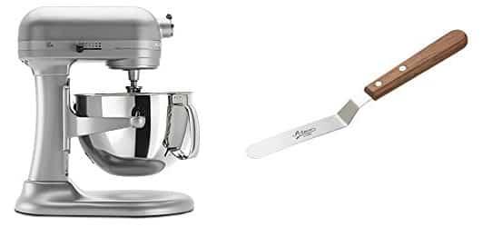 KitchenAid Standing Mixer and Icing Spatula