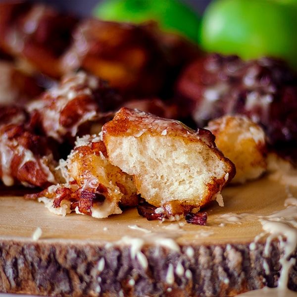 Apple Fritters With Maple Glaze Overnight Recipe Of Batter And Dough