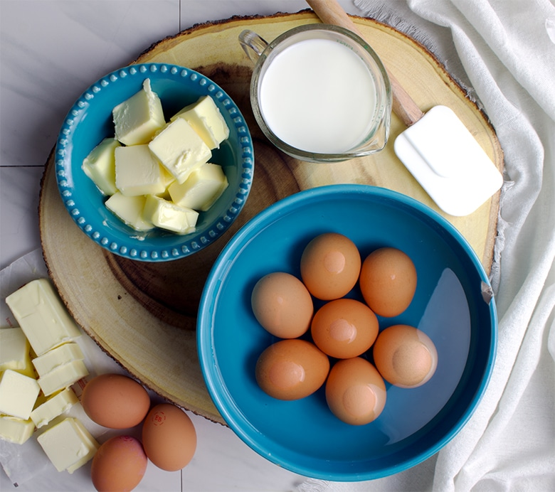 How to bring eggs and dairy to room temperature for baking