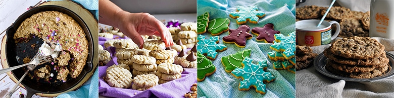 More popular cookie recipes: Skillet Cookie with Chocolate Chips and Oatmeal, Pecan Sand Tarts Frosted Brown Butter Citrus Sugar Cookies, Chewy Oatmeal Raisin Cookies