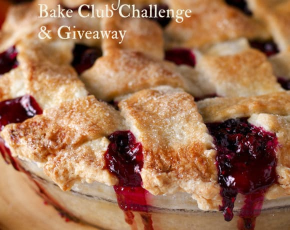 The July Bake Club Baking Challenge is a Mixed Berry and Plum Pie