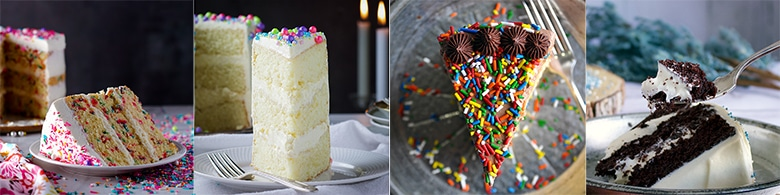 Cake recipes that go well with American Buttercream: Funfetti Cake - or Cupcakes, Classic Vanilla Cake, Classic Yellow Cake, Devil's Food Cake