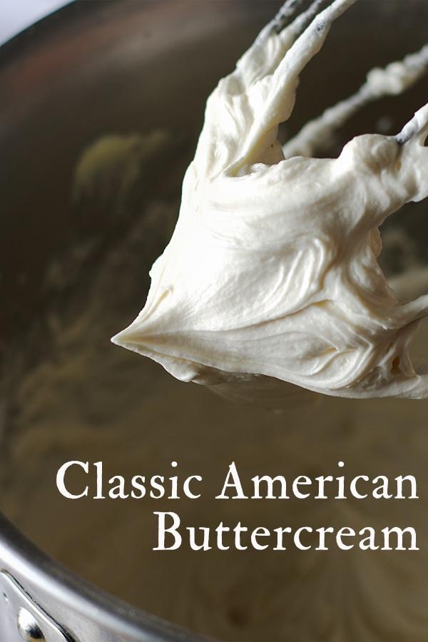 Classic American Buttercream.