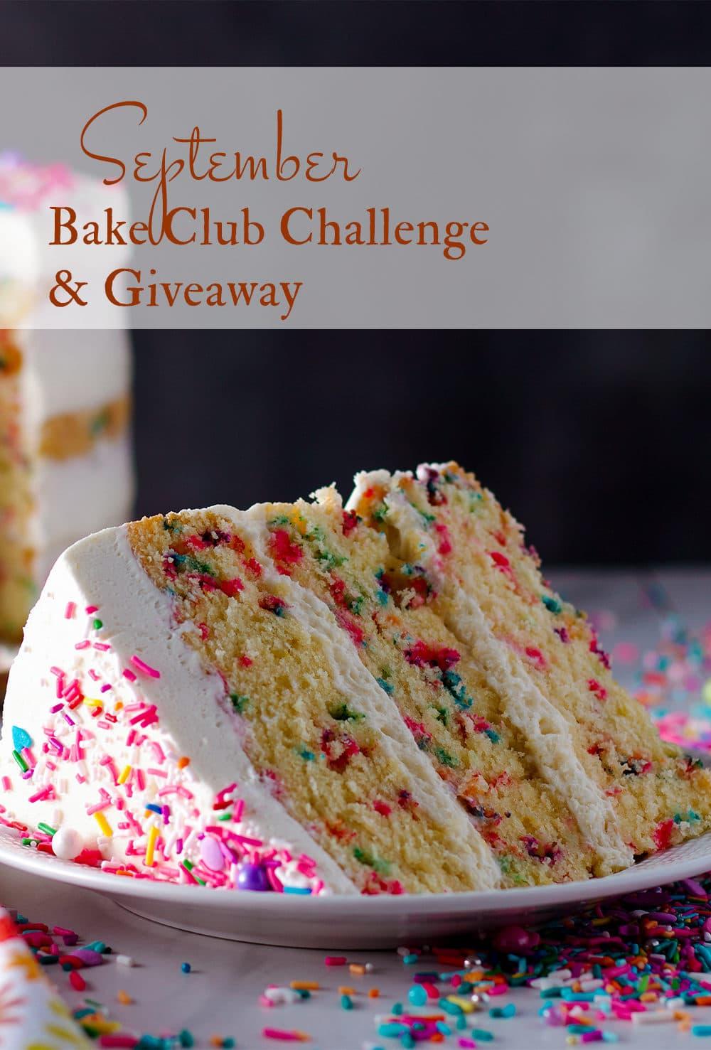 September Bake Club Challenge: Funfetti Cake