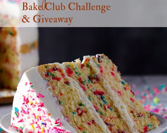 September Bake Club Challenge: Funfetti Cake