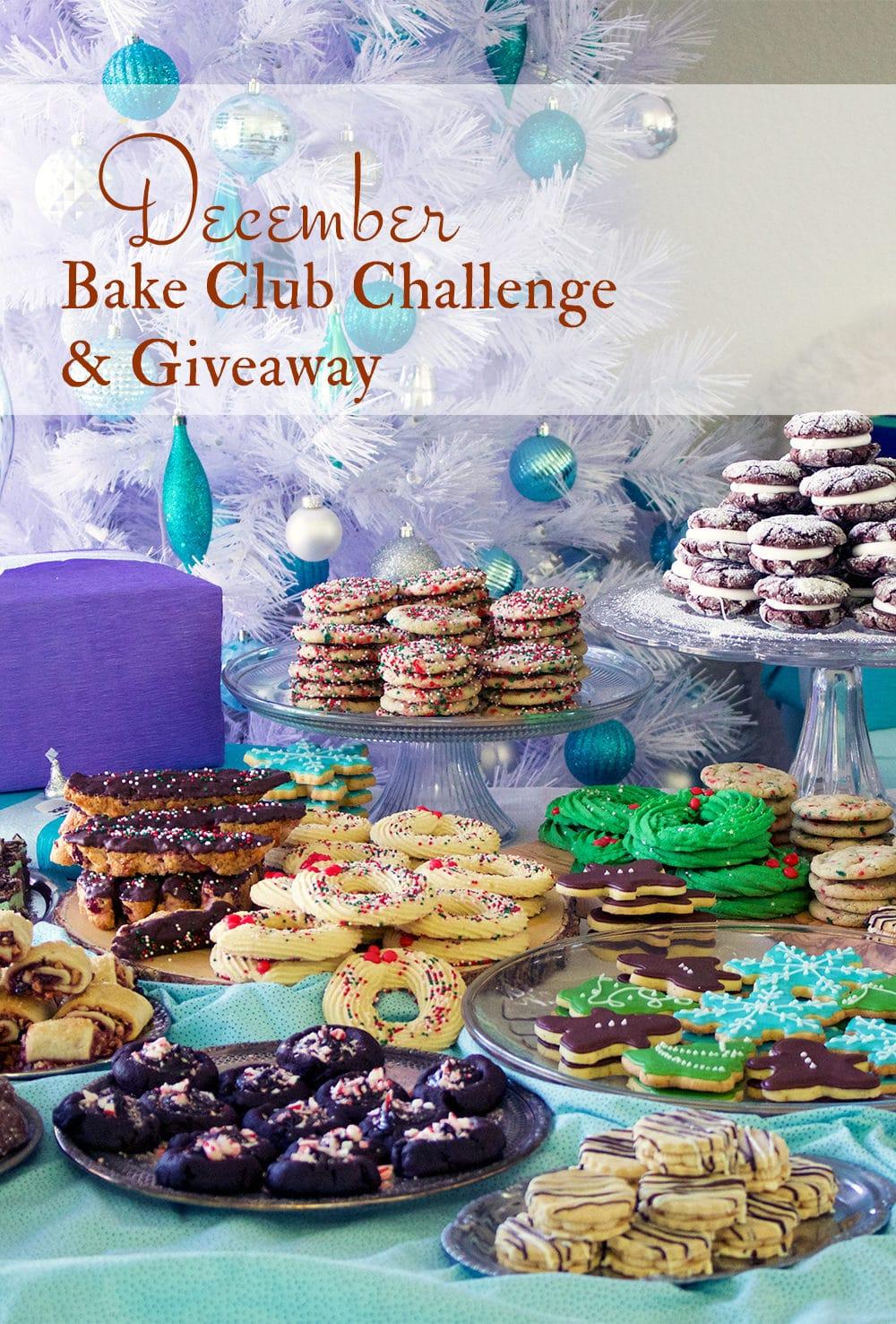 The December Bake Club Baking Challenge Recipe is Christmas Cookies