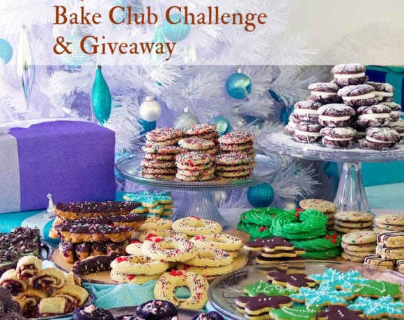 The December Bake Club Baking Challenge Recipe is Christmas Cookies