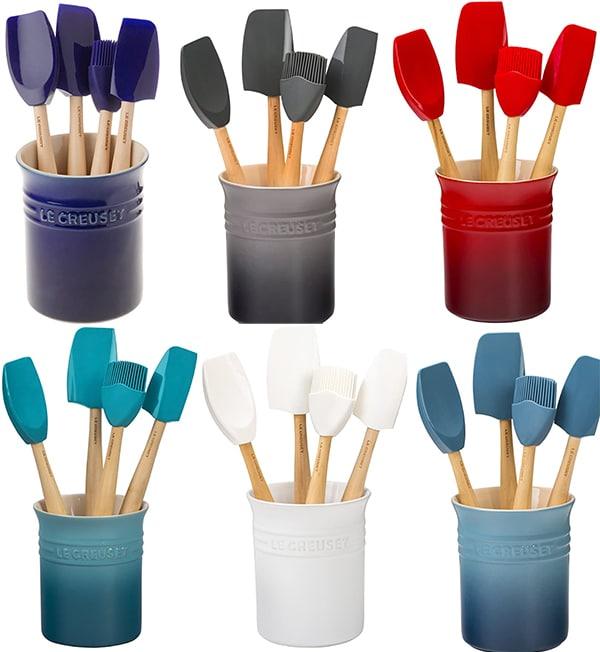 Le Creuset Craft Series Utensil Set with Crock